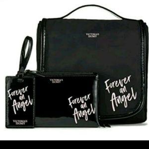 Ltd nwt vs forever an angel travel set 3pc